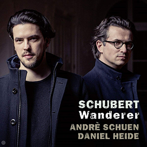 Recordings Schuen Schubert Cover 219
